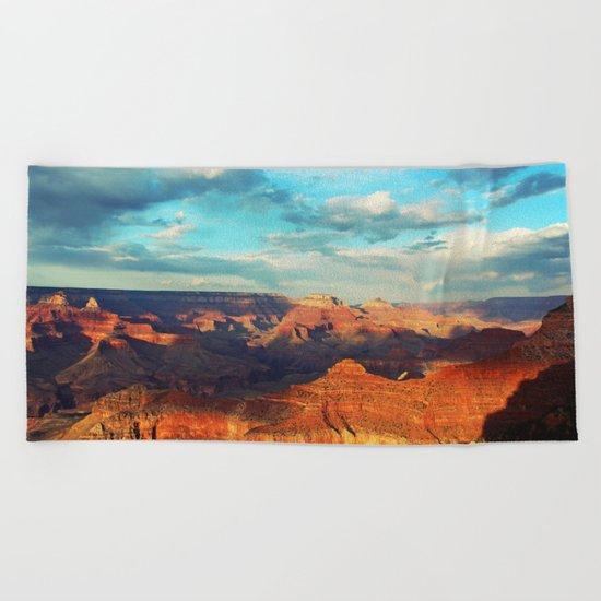 Grand Canyon - National Park, USA, America Beach Towel