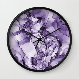Purple Heaven Wall Clock