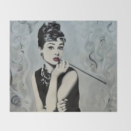 Hepburn Throw Blanket
