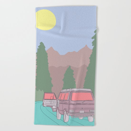 Arte N° 22 Beach Towel