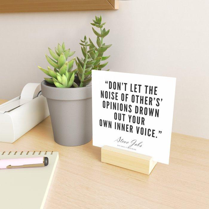 21  | Steve Jobs Quotes | 190720 Mini Art Print