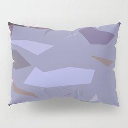 Fragmented Violet Pillow Sham