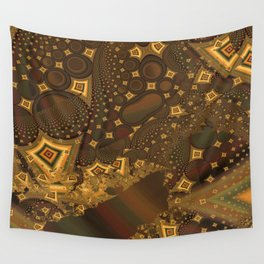 Abstract 0009 Wall Tapestry