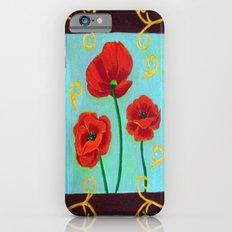 Poppies-4 Slim Case iPhone 6s