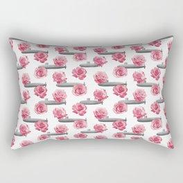Subs and Roses Rectangular Pillow