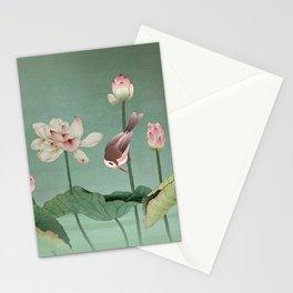 Sacred Lotus Flower Stationery Cards