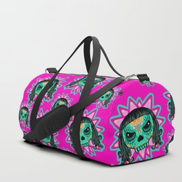 Cute Skull Vampire Duffle Bag
