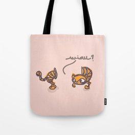 miau? Tote Bag