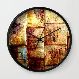 Contrast Metal Wall Clock