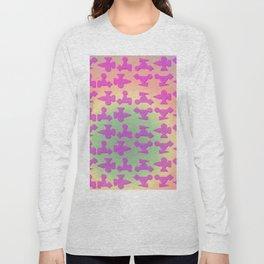 V2 pattern Long Sleeve T-shirt