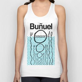 The Discreet Charm of the Bourgeoisie Unisex Tank Top