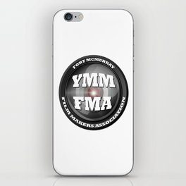 Fort McMurray Film Makers Association iPhone Skin