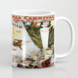 Vintage poster - Mobile Mardi Gras Coffee Mug