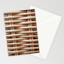 Rustic basket Stationery Cards