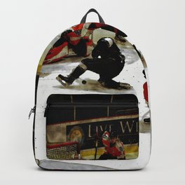 The End Zone - Ice Hockey Game Backpack