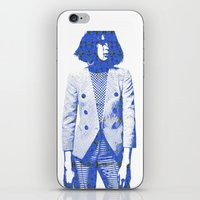 suit iPhone & iPod Skins featuring Suit by fashionistheonlycure