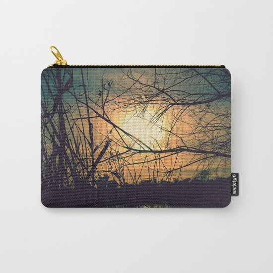 Spring Sunset Carry-All Pouch