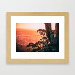 Beautiful Spring Sunset Framed Art Print