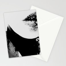 pois on mouth Stationery Cards