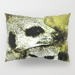 meerkat suricate mongoose wsgy Pillow Sham