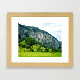 Lauterbrunnen Valley Framed Art Print