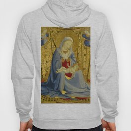 """Fra Angelico (Guido di Pietro) """"Madonna of Humility"""" 1430 Hoody"""