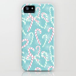 Frosty Canes iPhone Case