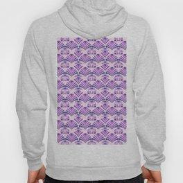 Art Deco classic pattern purple Hoody