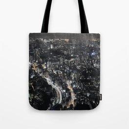 Tokyo by Night, Japan. Tote Bag