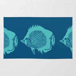 Swim Little Fish Rug