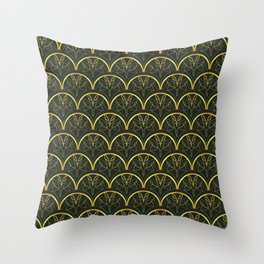 1920's Inspired Pattern Throw Pillow