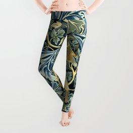 """William Morris """"Birds and Acanthus"""" Leggings"""