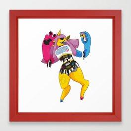 Konnor Framed Art Print