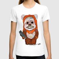 ewok T-shirts featuring Eccentric Ewok by Jordan Soliz