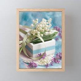 Finally spring Framed Mini Art Print