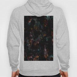 Abstract teal pink orange watercolor nebula galaxy brushstrokes Hoody