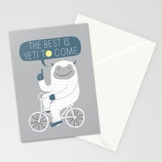 The Best is Yeti to Come Stationery Cards