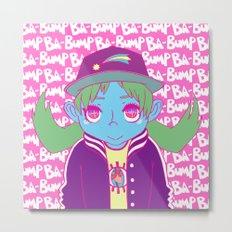 BA-BUMP Metal Print