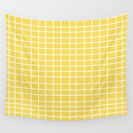 Squares of Yellow Wall Tapestry