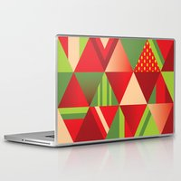 strawberry Laptop & iPad Skins featuring strawberry by Gray