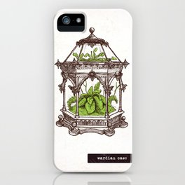 Wardian Case - Wonderful Inventions iPhone Case