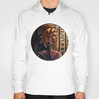 egyptian Hoodies featuring Egyptian by Ayu Marques