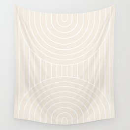 Arch Symmetry I Wall Tapestry