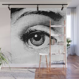 Lina Cavalieri - right eye Wall Mural