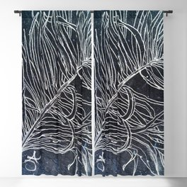 Palm Leaf Earth Day and Easter Blackout Curtain