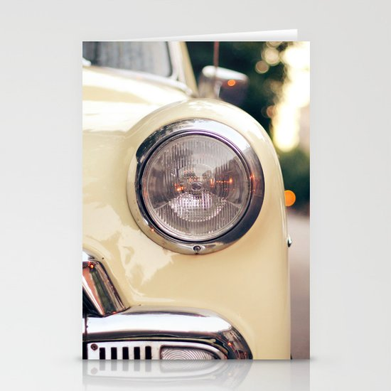 The car Stationery Cards