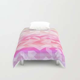 Geometric Sunset Duvet Cover