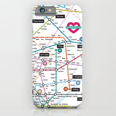 Love Map Slim Case iPhone 6s