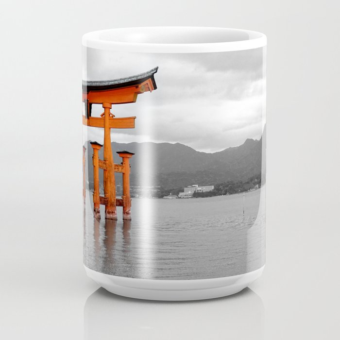 Torii Gate: Itsukushima, Miyajima Island, Hiroshima, Japan Coffee Mug