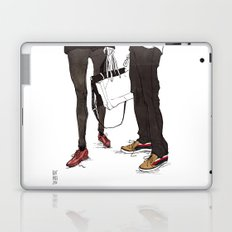 Mismatched, But Not Incompatible by Kat Mills Laptop & iPad Skin